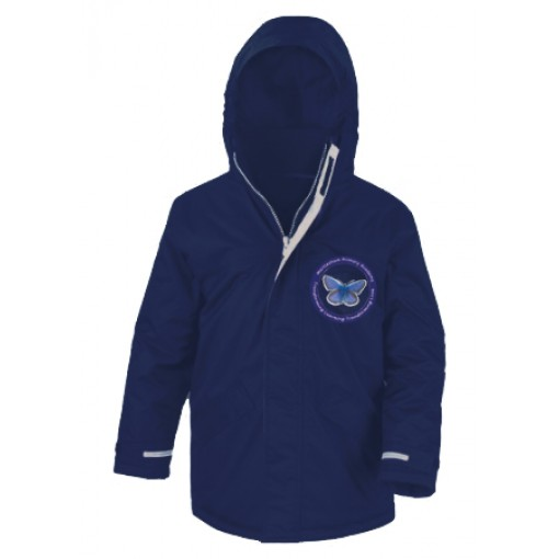 Children's Navy Winter Coat