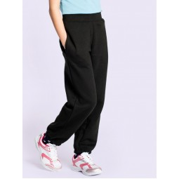 Small Adult's Black Jogging Bottoms