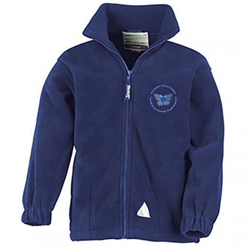 Adults Navy Forest Fleece