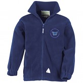 Children's Navy Forest Fleece